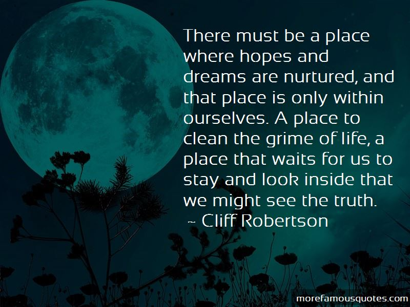 Cliff Robertson Quotes Pictures 3