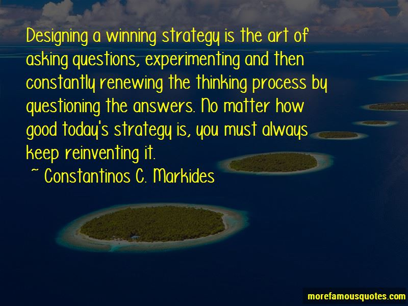 Constantinos C. Markides Quotes Pictures 3