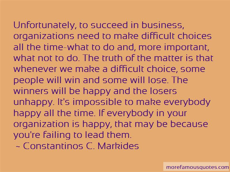 Constantinos C. Markides Quotes Pictures 4