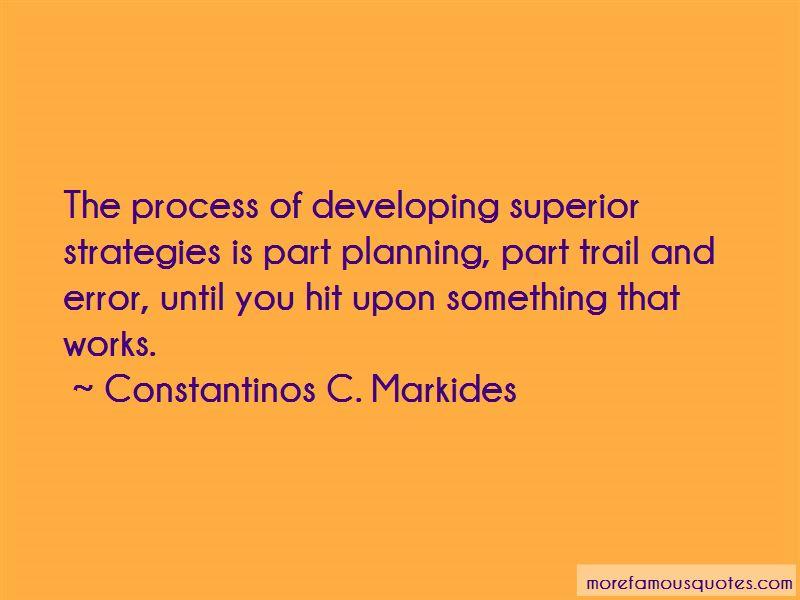 Constantinos C. Markides Quotes