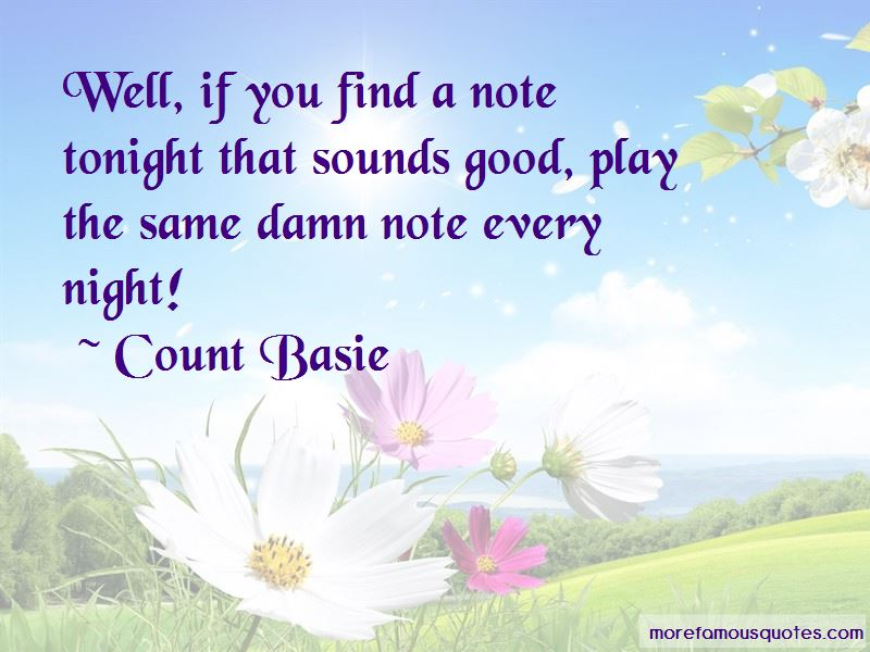 Count Basie Quotes Pictures 3