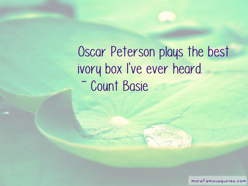 Count Basie Quotes