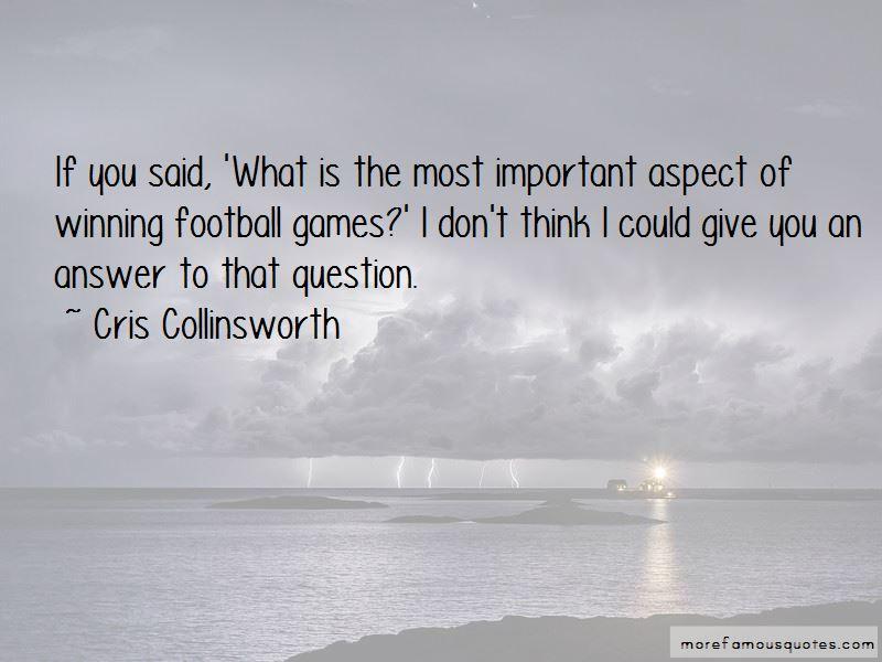 Cris Collinsworth Quotes Pictures 2