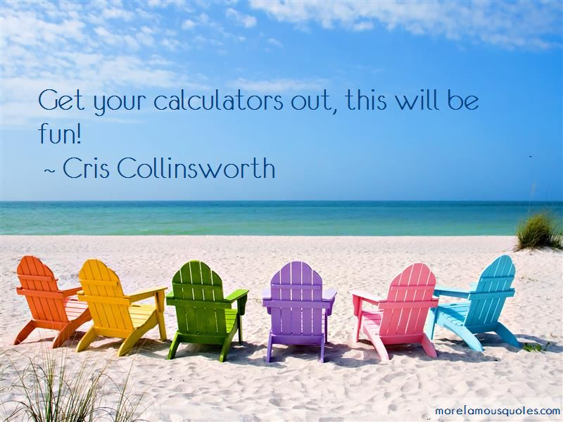 Cris Collinsworth Quotes