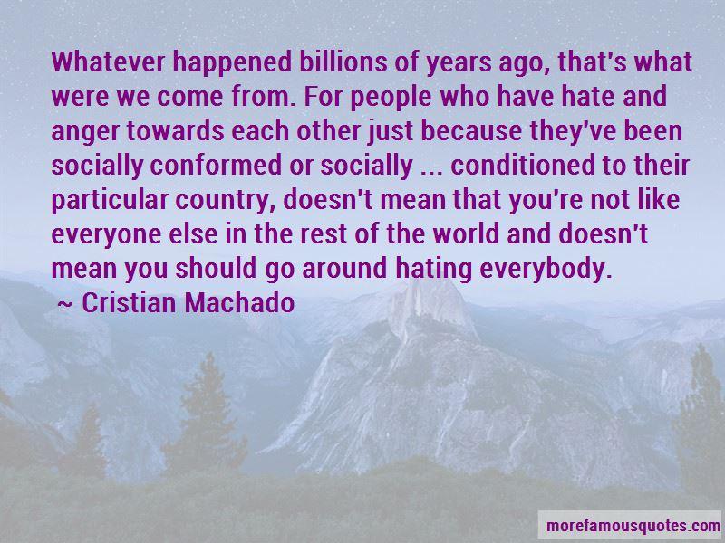 Cristian Machado Quotes Pictures 2