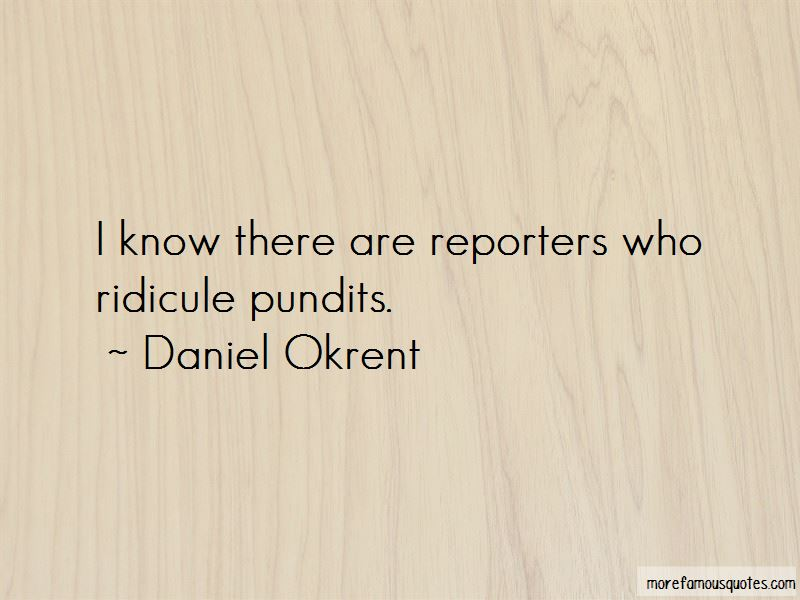 Daniel Okrent Quotes