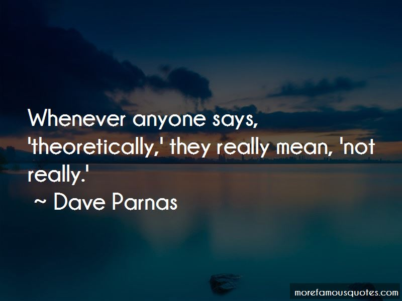 Dave Parnas Quotes Pictures 2