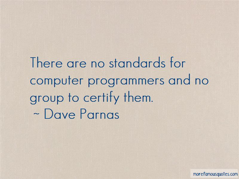 Dave Parnas Quotes Pictures 4