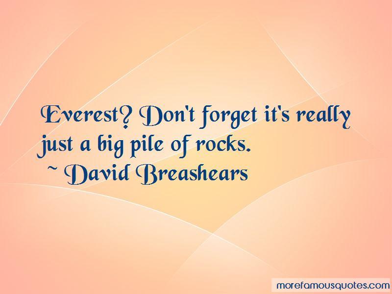 David Breashears Quotes