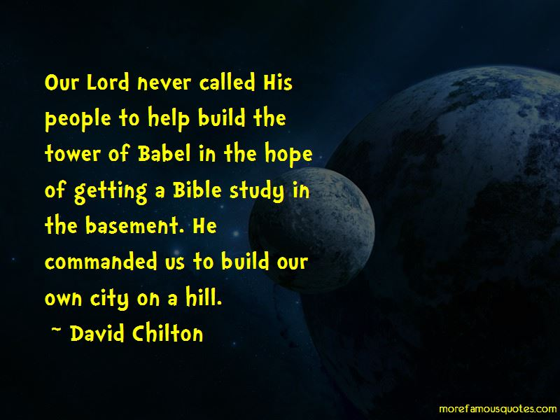 David Chilton Quotes