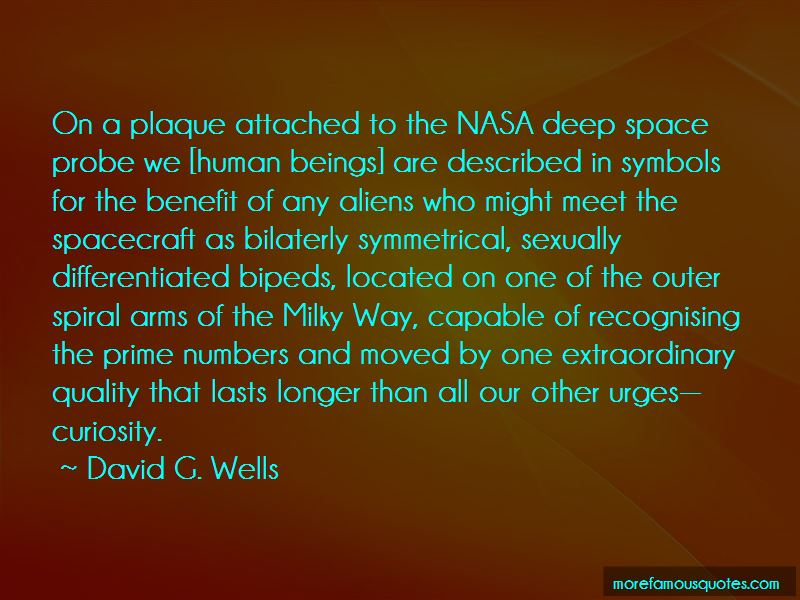 David G. Wells Quotes