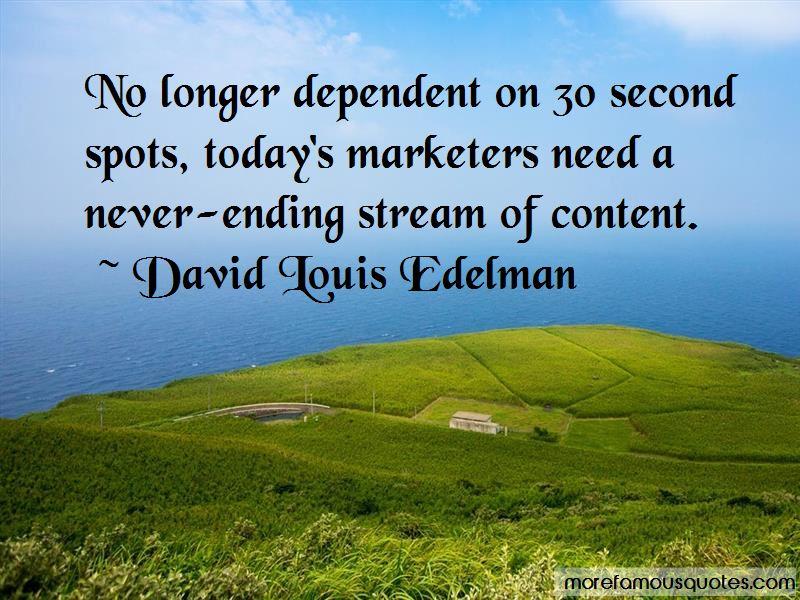 David Louis Edelman Quotes Pictures 2