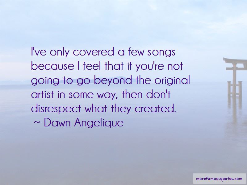 Dawn Angelique Quotes Pictures 2