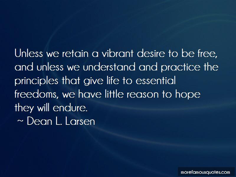 Dean L. Larsen Quotes