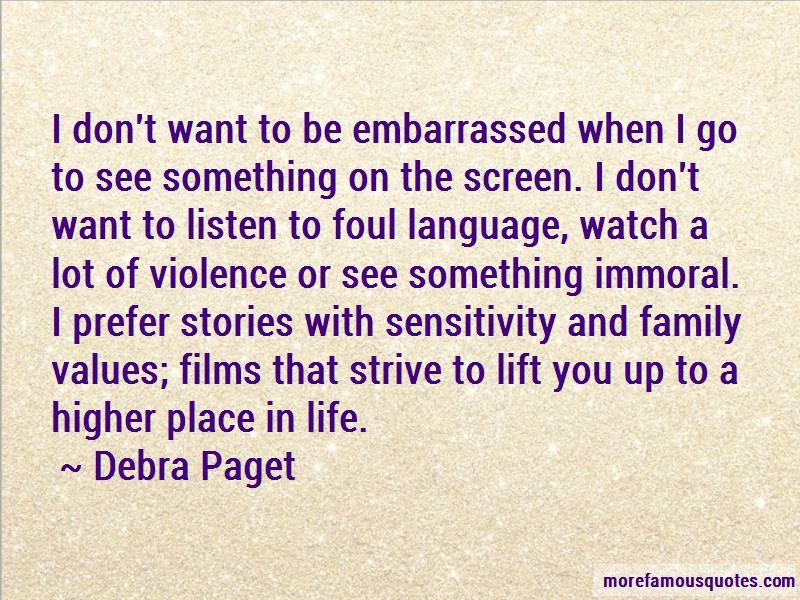 Debra Paget Quotes