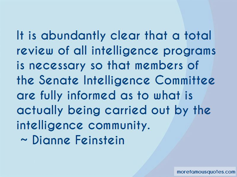 Dianne Feinstein Quotes Pictures 3