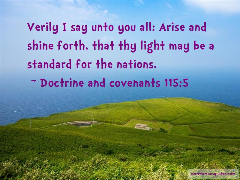 Doctrine And Covenants 115:5 Quotes