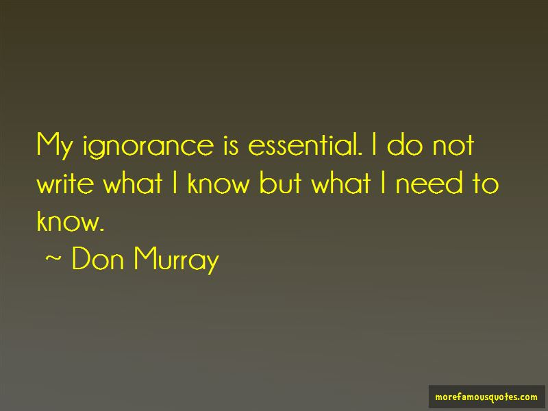Don Murray Quotes