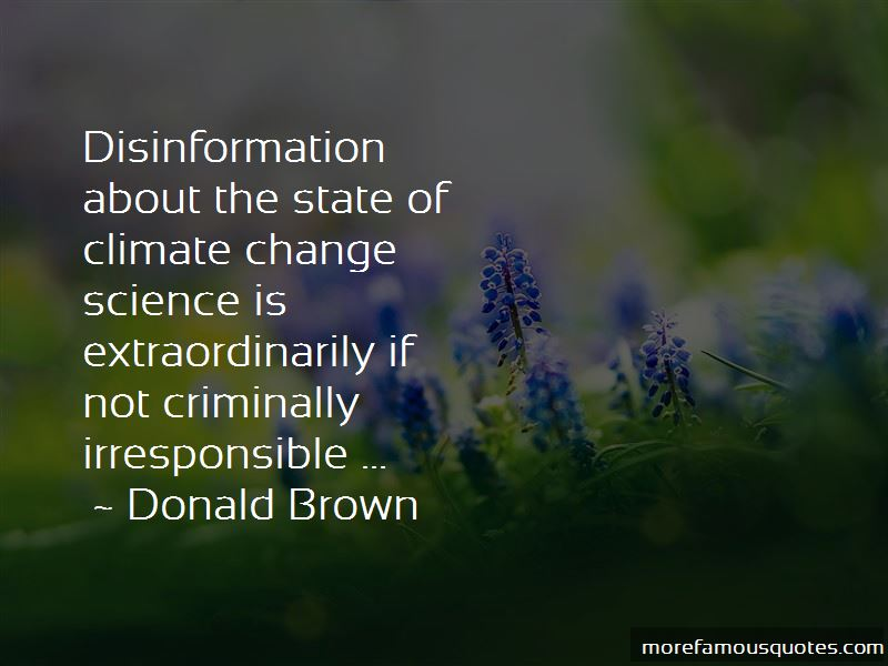 Donald Brown Quotes Pictures 2