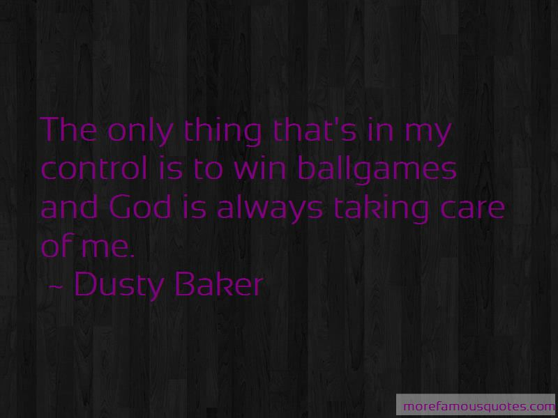 Dusty Baker Quotes Pictures 2