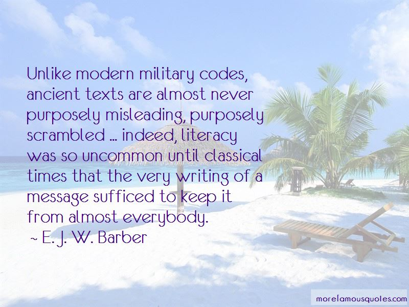 E. J. W. Barber Quotes Pictures 3