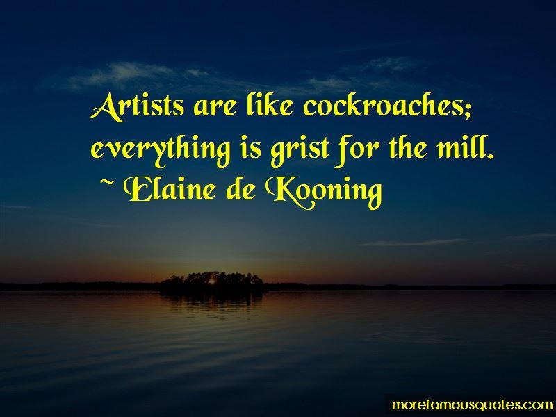 Elaine De Kooning Quotes Pictures 2