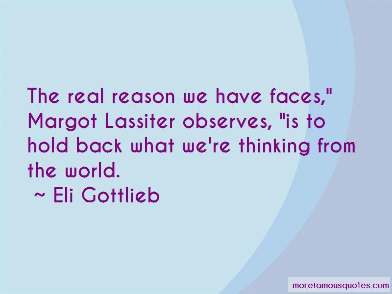 Eli Gottlieb Quotes