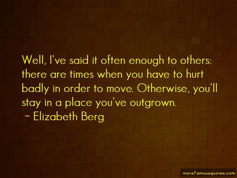Elizabeth Berg Quotes Pictures 4