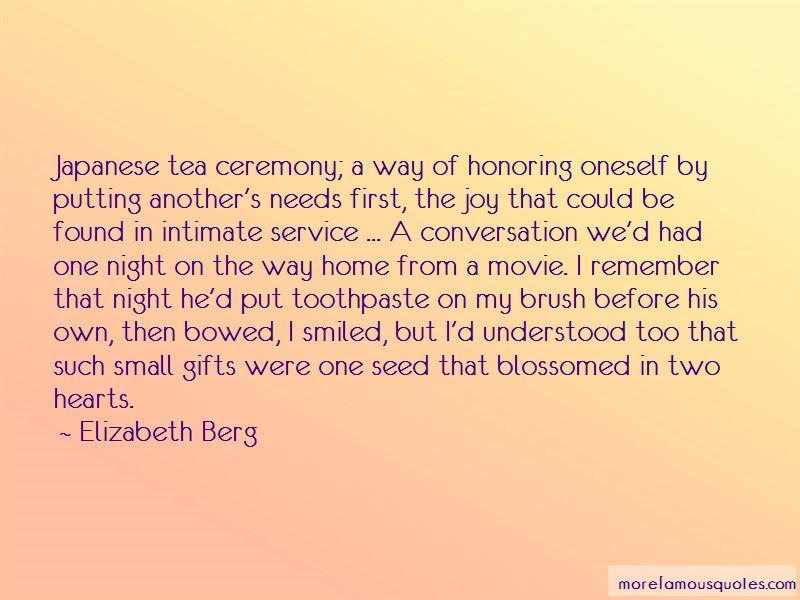 Elizabeth Berg Quotes