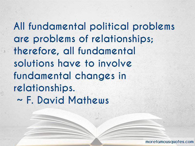 F. David Mathews Quotes Pictures 2