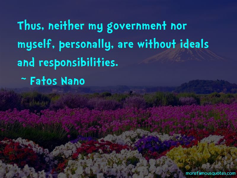 Fatos Nano Quotes Pictures 4