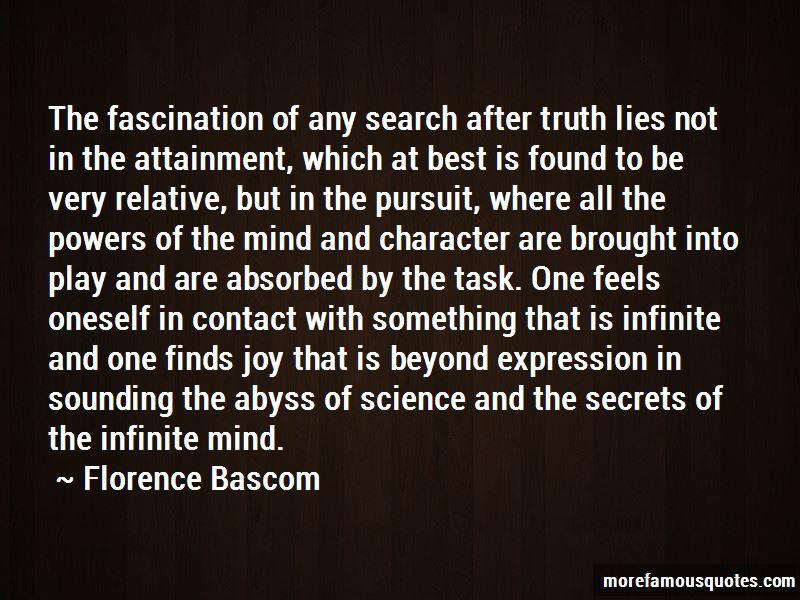 Florence Bascom Quotes
