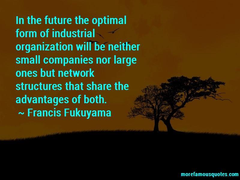 Francis Fukuyama Quotes