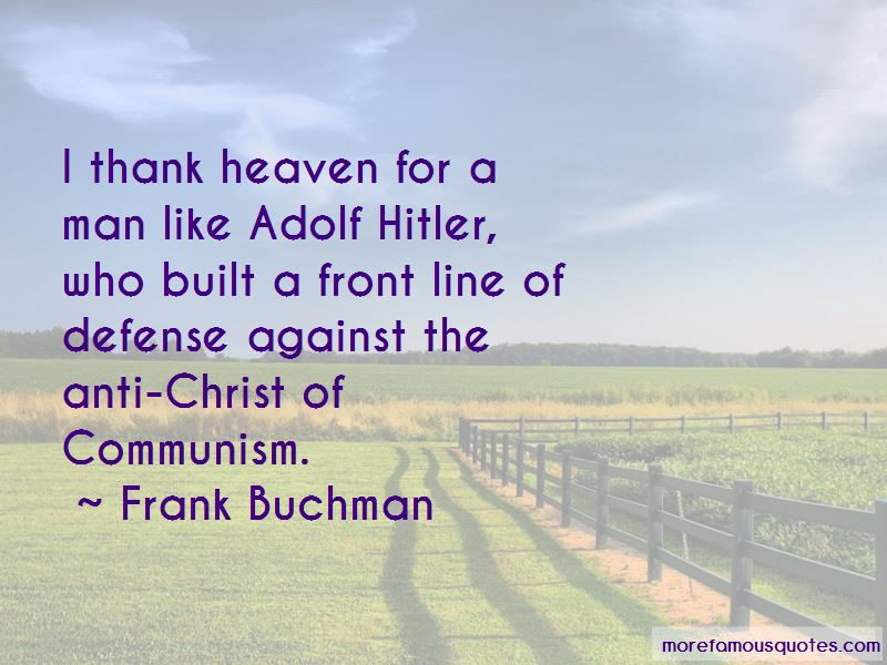 Frank Buchman Quotes Pictures 3