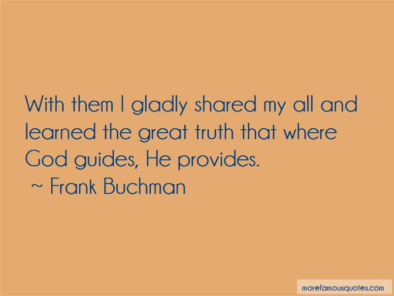 Frank Buchman Quotes Pictures 4