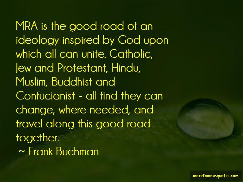 Frank Buchman Quotes