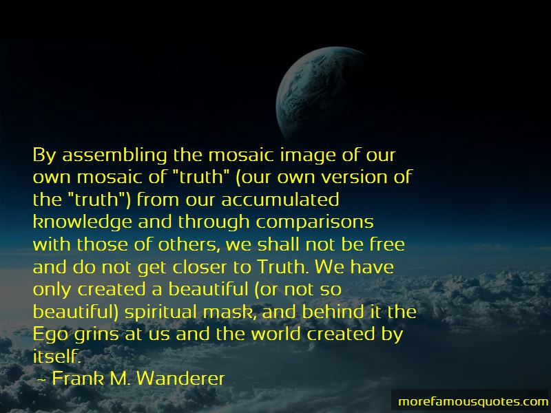 Frank M. Wanderer Quotes