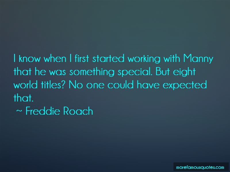 Freddie Roach Quotes Pictures 2