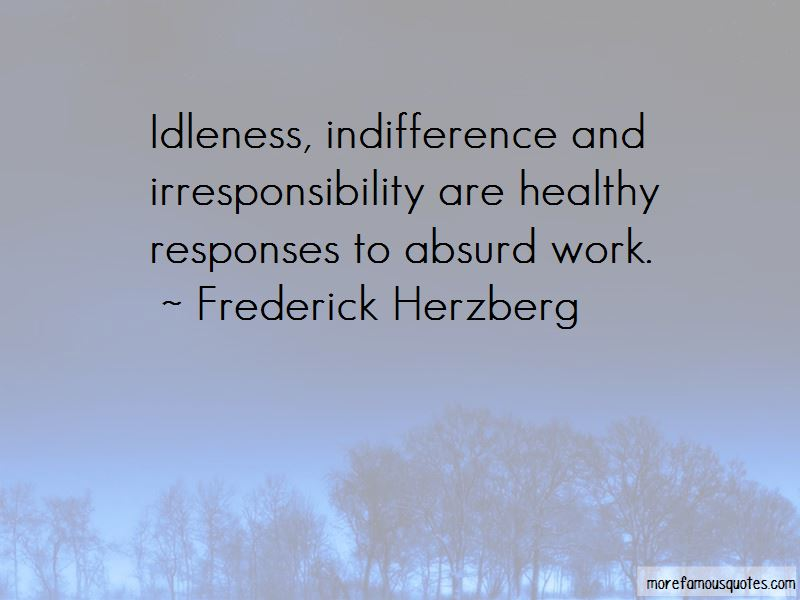 Frederick Herzberg Quotes Pictures 3