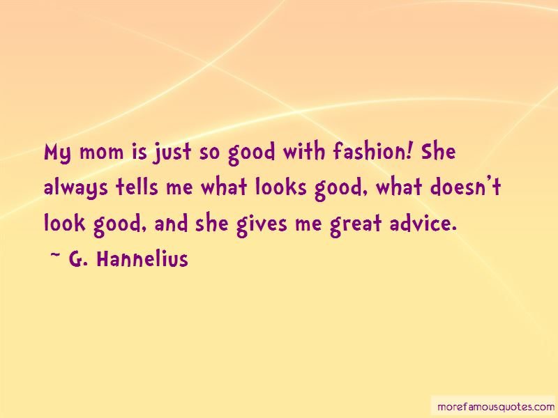 G. Hannelius Quotes