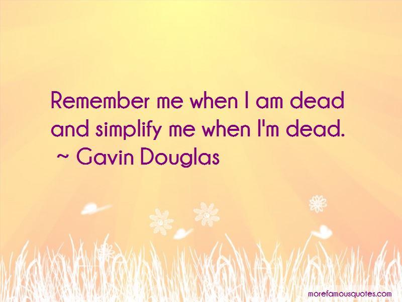 Gavin Douglas Quotes Pictures 3
