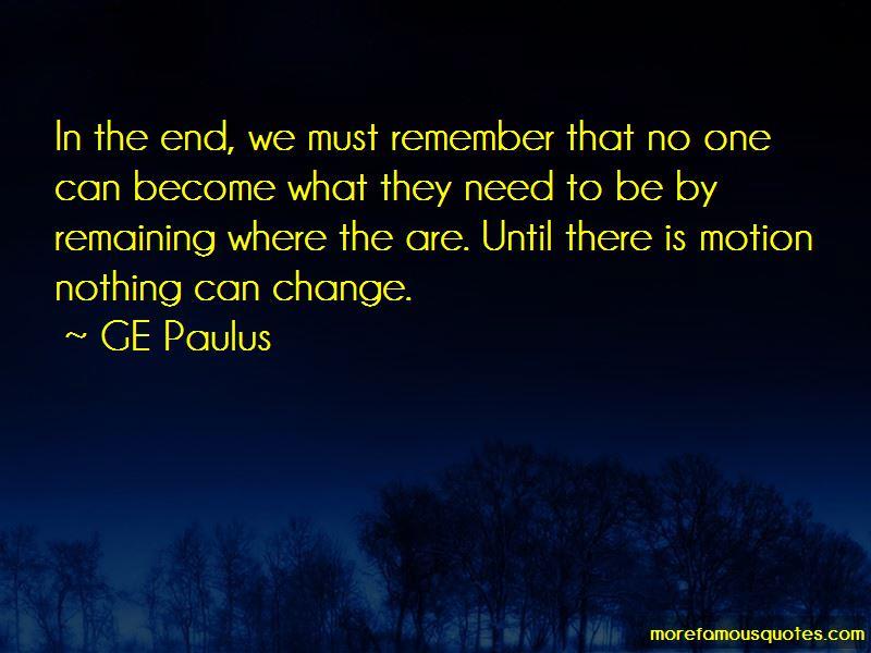 GE Paulus Quotes Pictures 2