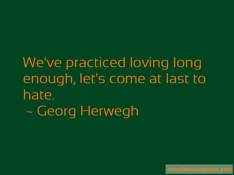 Georg Herwegh Quotes