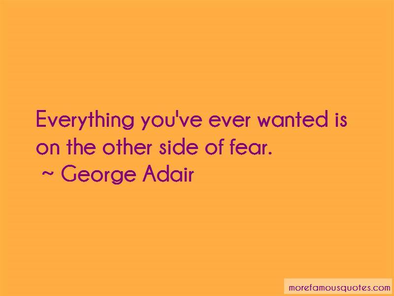 George Adair Quotes