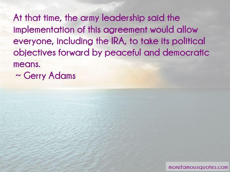 Gerry Adams Quotes