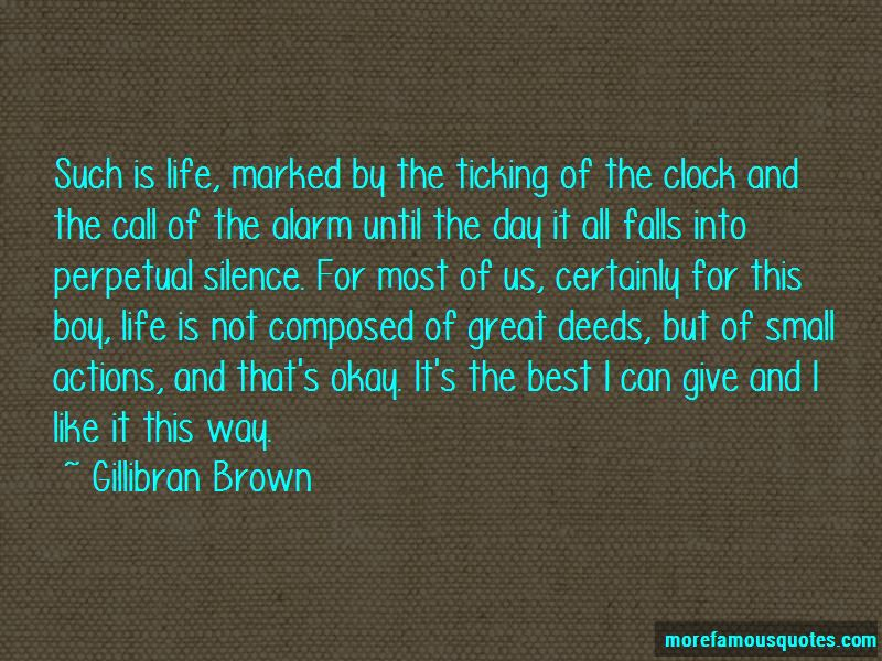 Gillibran Brown Quotes Pictures 3