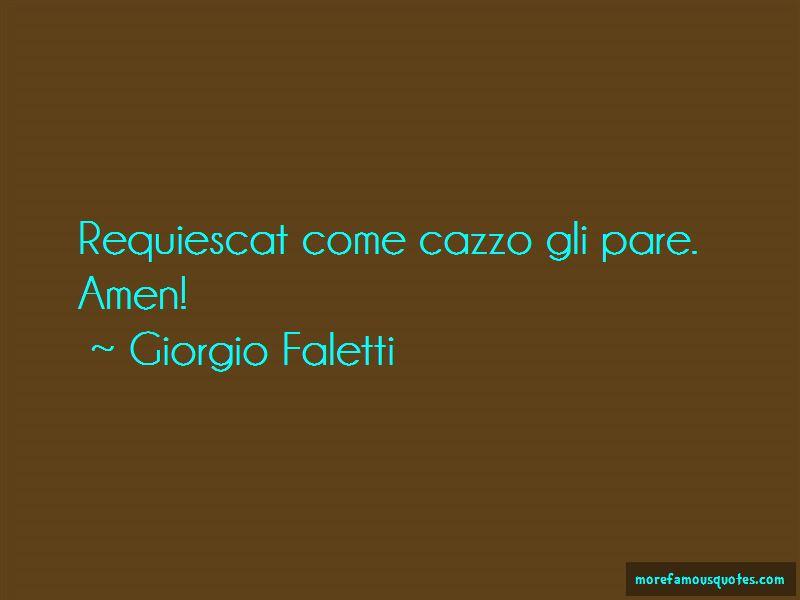 Giorgio Faletti Quotes