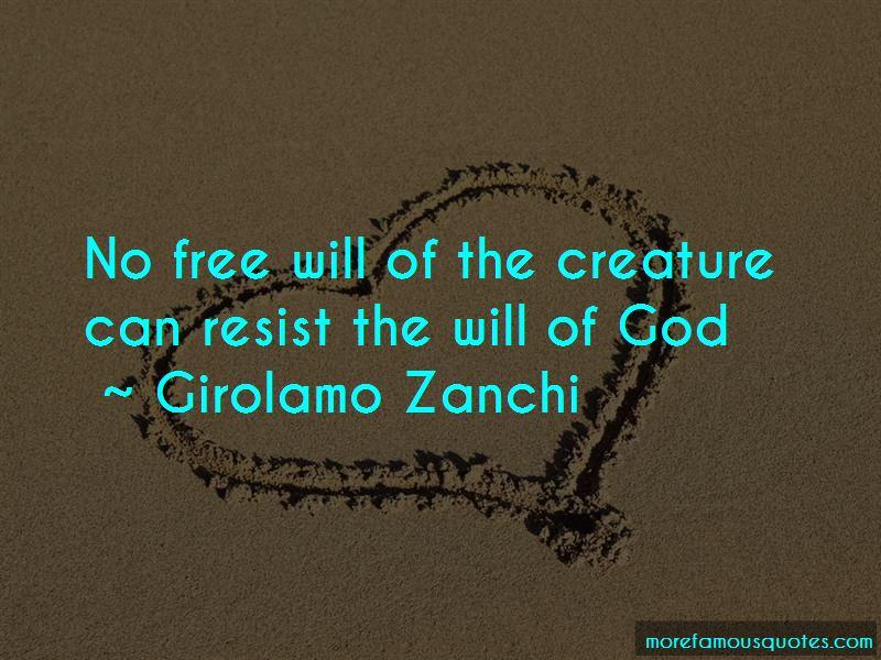 Girolamo Zanchi Quotes