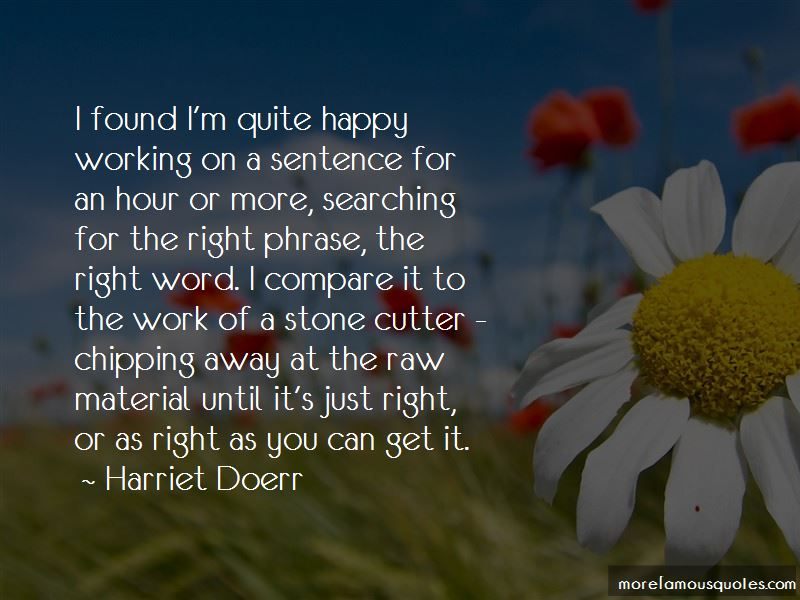 Harriet Doerr Quotes Pictures 2