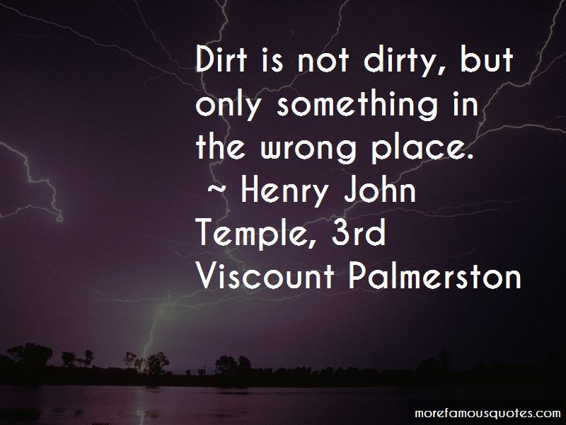 Henry John Temple, 3rd Viscount Palmerston Quotes